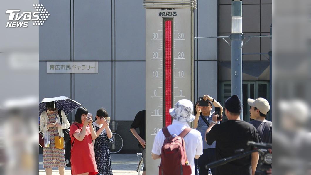 圖/達志影像美聯社 梅雨剛結束氣溫飆升 日本一週內11人中暑喪命