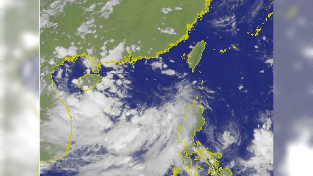 7號颱風「韋帕」最快31號生成。圖/翻攝中央氣象局 7號颱風「韋帕」最快週三生成 3個地區留意雨勢!