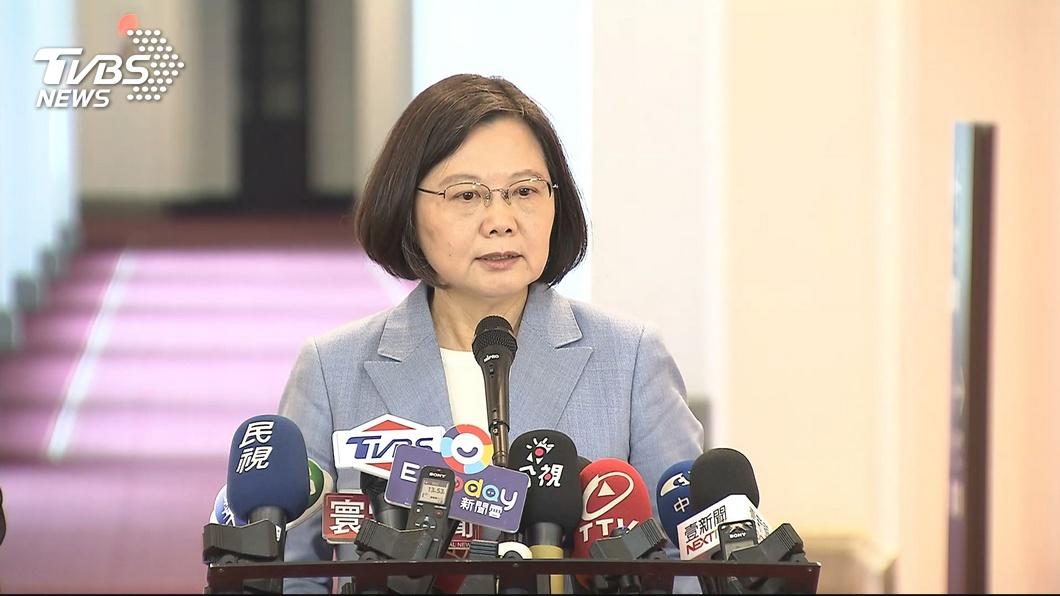 圖/TVBS 陸停發赴台自由行通行證 蔡總統:把觀光客當政治工具