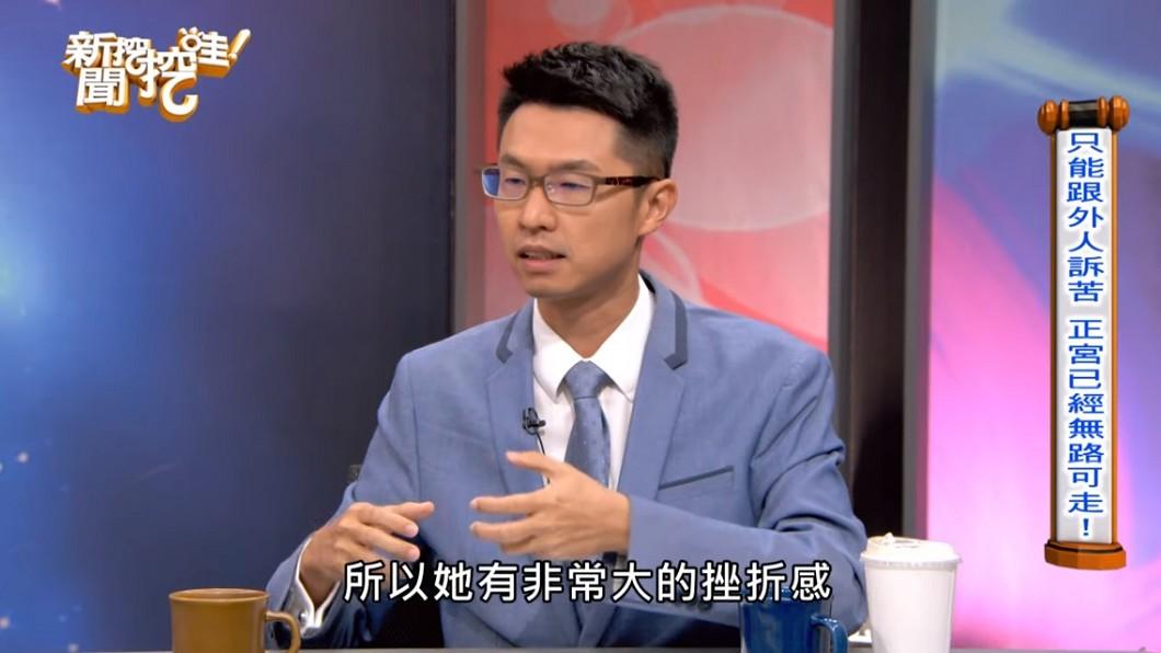 律師劉韋廷。(圖/翻攝自YouTube新聞挖挖哇頻道)