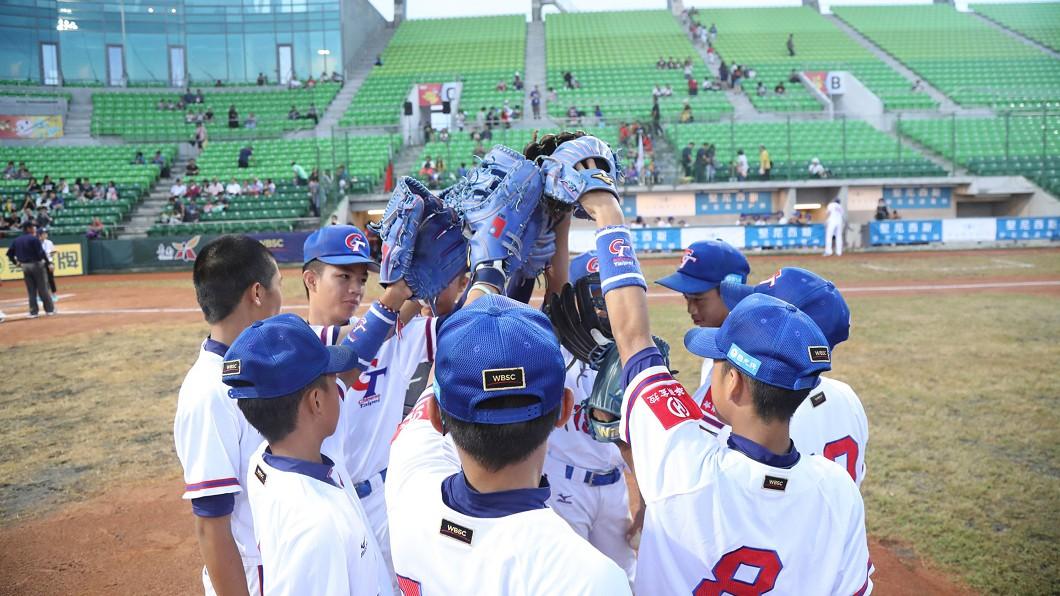 圖/中華棒協提供 快訊/U12世界盃棒賽 中華小將9:3力剋韓國