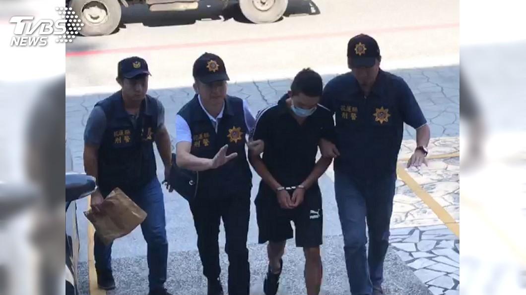 圖/中央社 花蓮銀樓搶案2嫌 警7小時抓到人