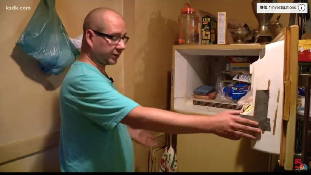 美國一名男子日前整理亡母遺物時,竟在冰箱內發現一具嬰屍。(圖/翻攝自YouTube) 整理亡母遺物…驚見冰箱藏嬰屍 男驚:可能是我無緣姊姊