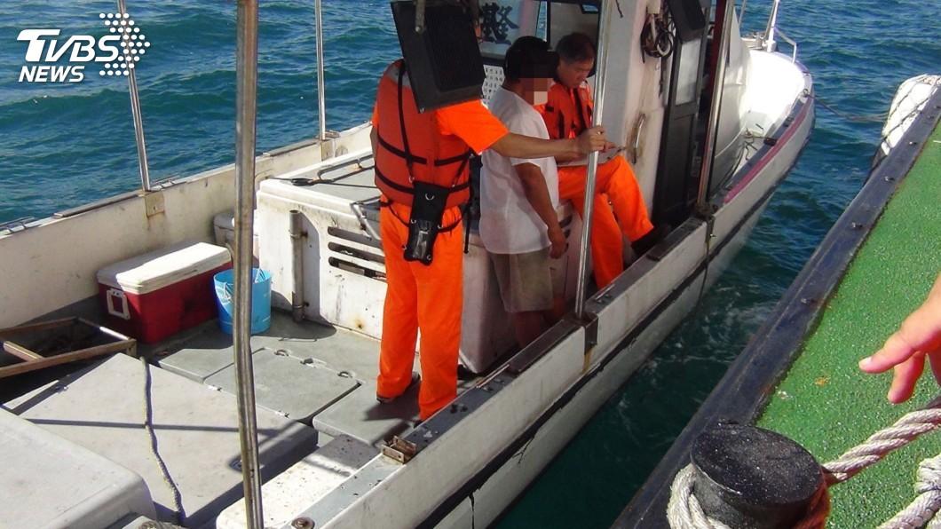 圖/中央社 基隆嶼海域違規潛水捕魚 最高可罰15萬