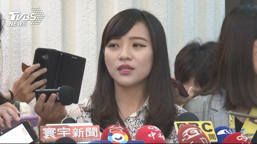 圖/TVBS資料畫面 「女女戀」因為韓國瑜被分手? 黃捷首度吐露心聲