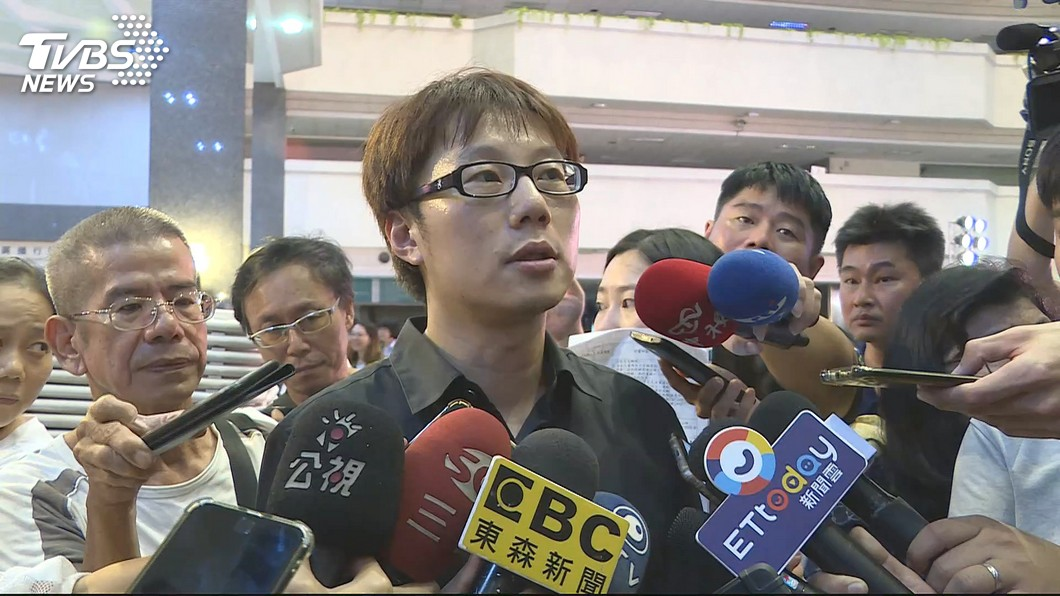 圖/TVBS 陳冠榮辭氣爆自救會長 喊話將善款爭議送檢調