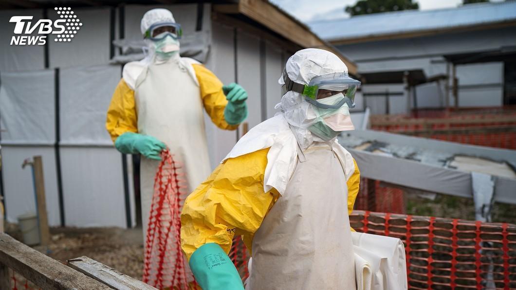 圖/達志影像美聯社 剛果東部大城果瑪市 第2人死於伊波拉病毒