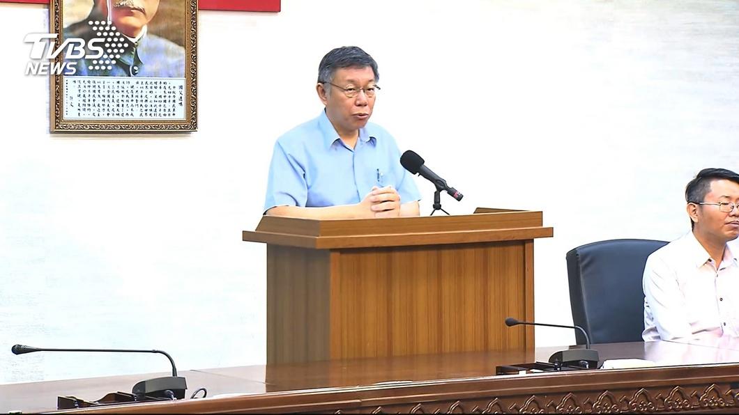 圖/TVBS 柯文哲將組黨 蔣渭水後代:懷疑台灣利益是否優先