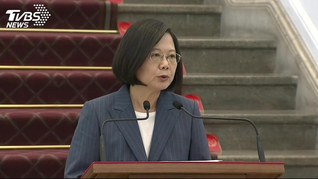 圖/TVBS 國安局私菸案 蔡總統:偵辦到底絕不迴避不護短