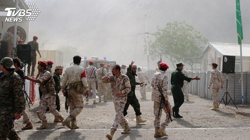 圖/達志影像路透社 葉門第2大城警局軍營遇襲 傳釀數十死傷