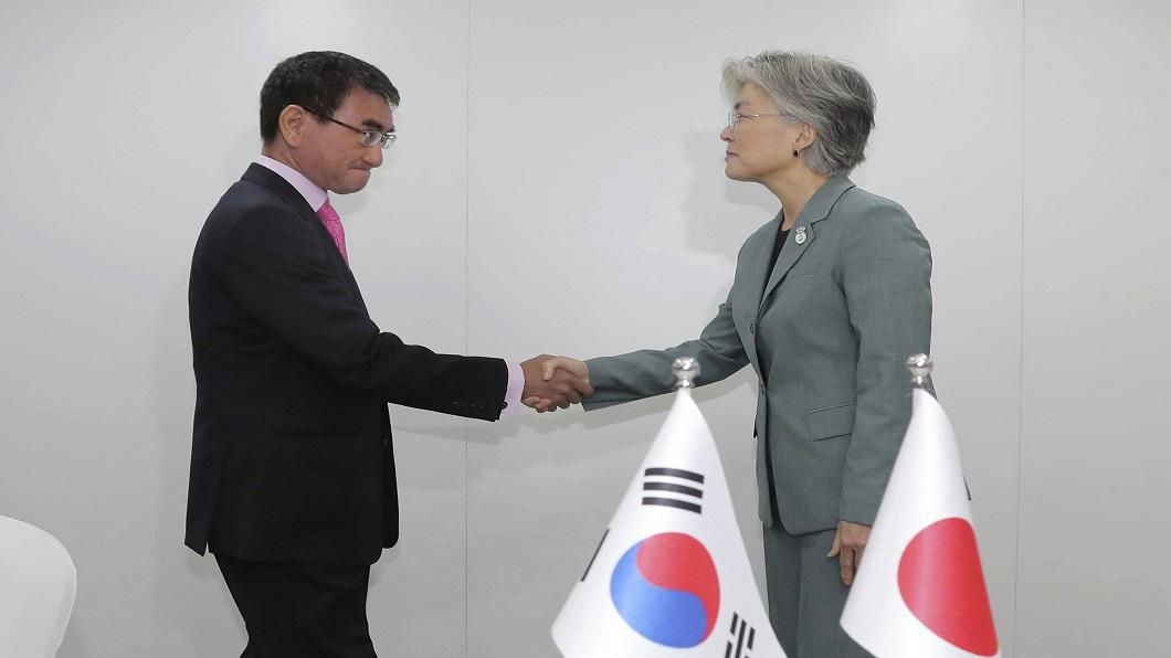 圖/達志影像美聯社 日韓交惡威脅戰略佈局 美國急扮和事佬