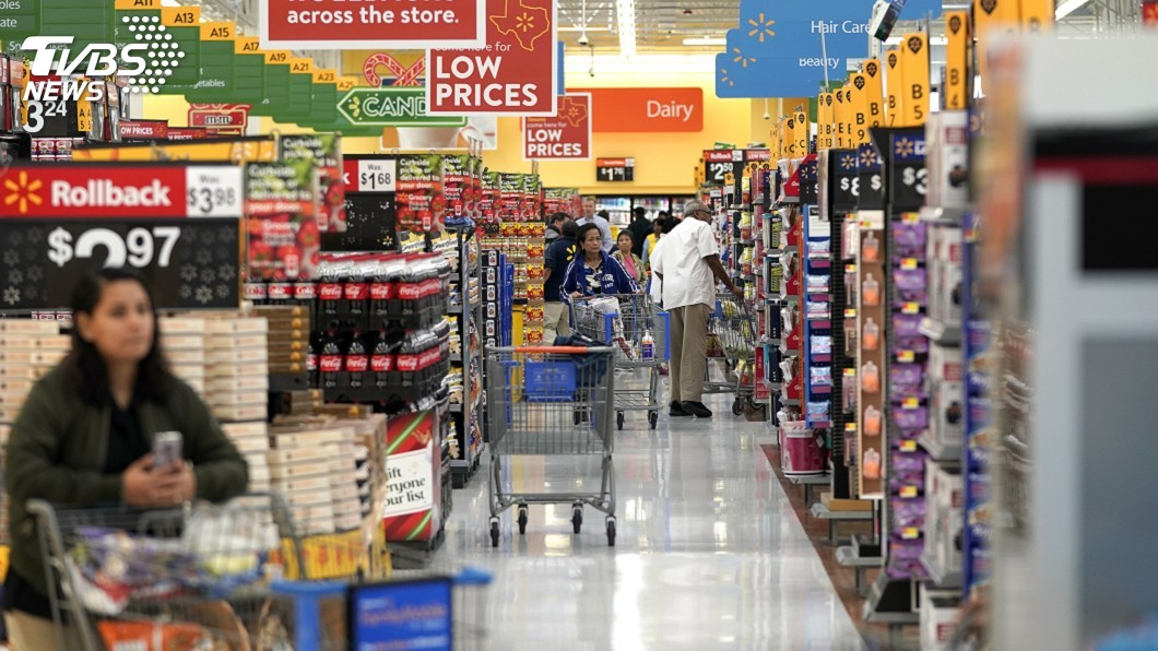 圖/達志影像美聯社 川普再對中國產品祭10%關稅 美4大零售商反彈