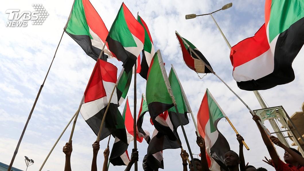 圖/達志影像路透社 抗議學生遭射殺 蘇丹新一波示威又流血