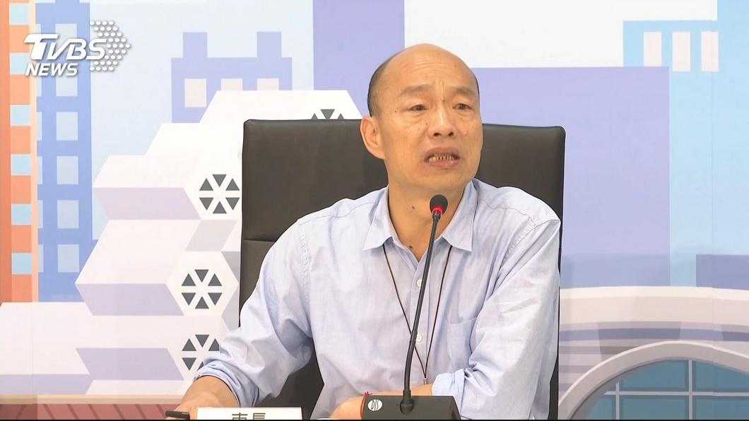 圖/TVBS 媒體民調落後 韓國瑜:藍軍不能整合支持者憂慮