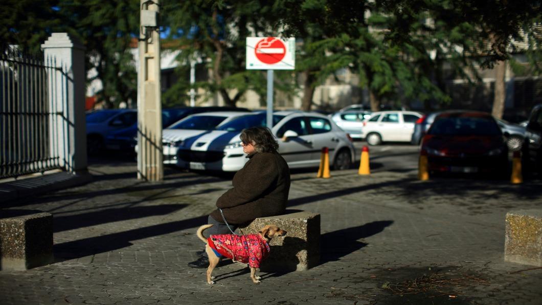 圖/達志影像路透 西班牙「歐豬」翻身 紮營族爭取:居住正義