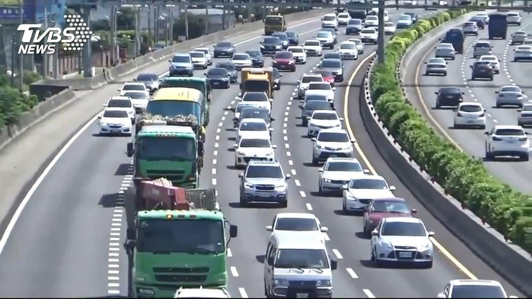 示意圖/TVBS 中秋連假國道首日車最多 易壅塞時段一次看
