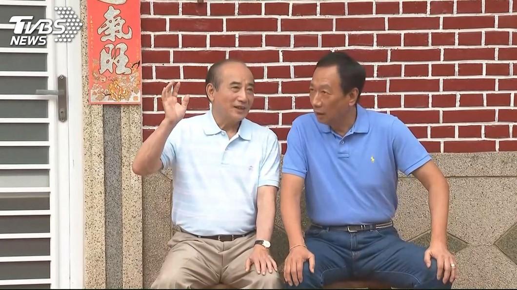 圖/TVBS資料畫面 郭王配有譜?與郭相談甚歡 王金平:共識一起為台灣打拚