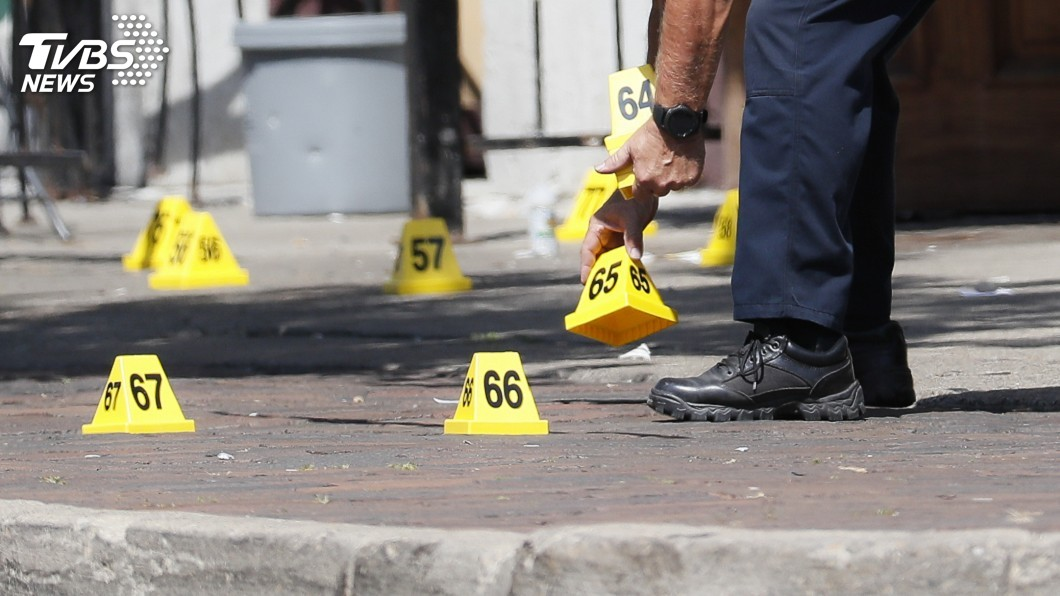圖/達志影像美聯社 美俄亥俄州槍擊案 警方確認凶嫌是24歲白人男性