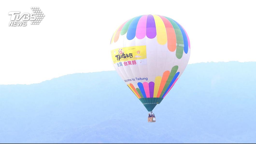 圖/TVBS 台東熱氣球嘉年華 縣府估逾96萬人次造訪