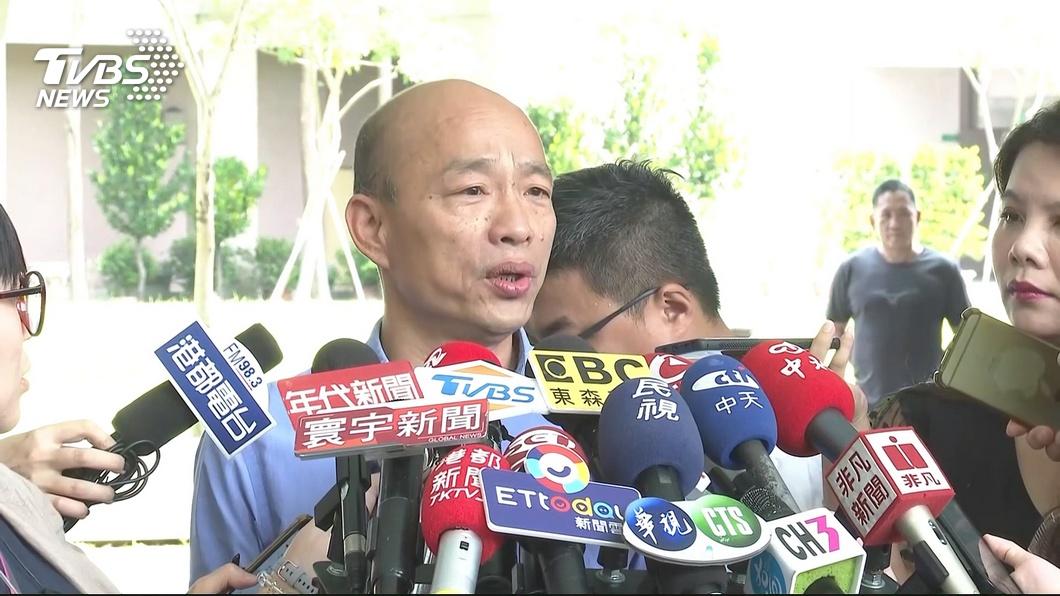 圖/TVBS 韓爆「跑桃園不支倒地」 綠酸「兼差一條龍、上班是蟲」