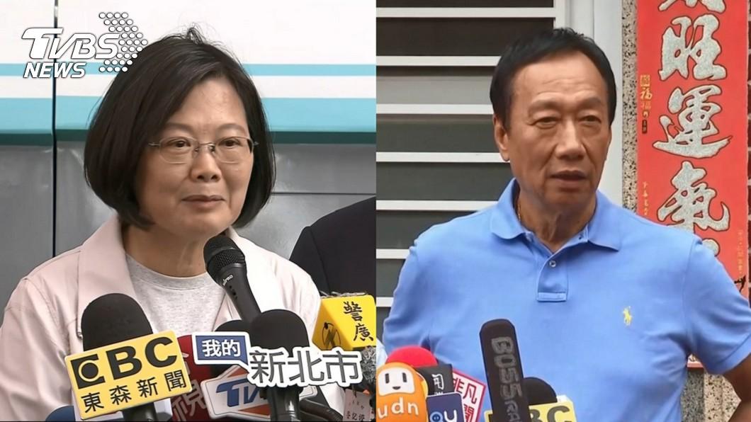 圖/TVBS 批政府用數字粉飾太平 郭台銘下戰帖邀總統辯論