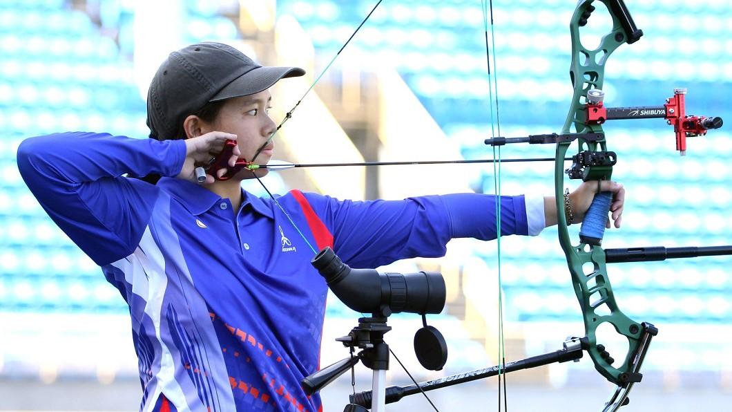 圖/翻攝自中華民國射箭協會 Chinese Taipei Archery Association臉書 亞洲盃射箭賽一度落後6分 王律勻逆轉奪金牌