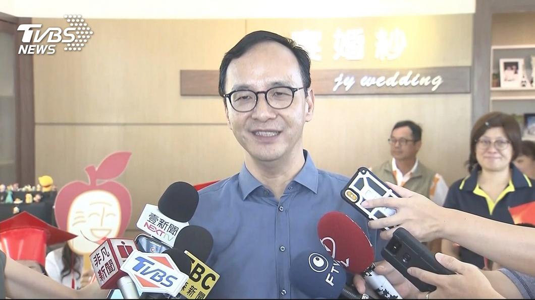 圖/TVBS 談韓國瑜民調 朱:爭取不表態選民支持才能勝選