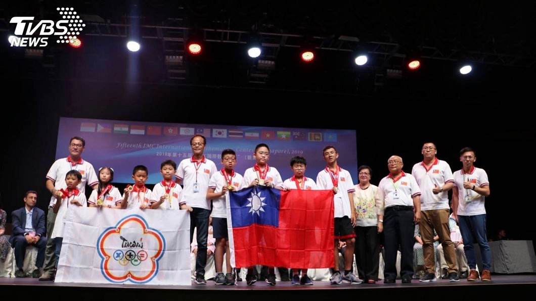 圖/中央社 IMC國際數學競賽 台灣學生奪16金31銀51銅