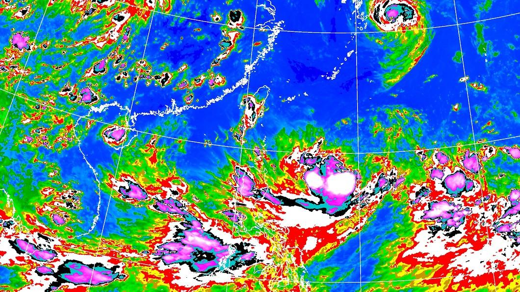 圖/中央氣象局 三颱共舞?颱風「柯羅莎」最快明生成 未來路徑曝光