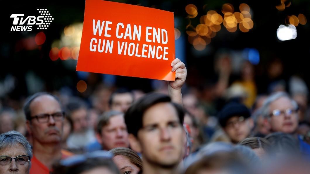 圖/達志影像美聯社 一日兩槍擊案釀29死 川普:槍手有精神病