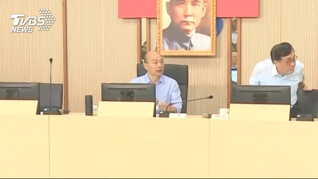 圖/TVBS 柯文哲組民眾黨 韓國瑜:盼闡述政黨理念並實踐