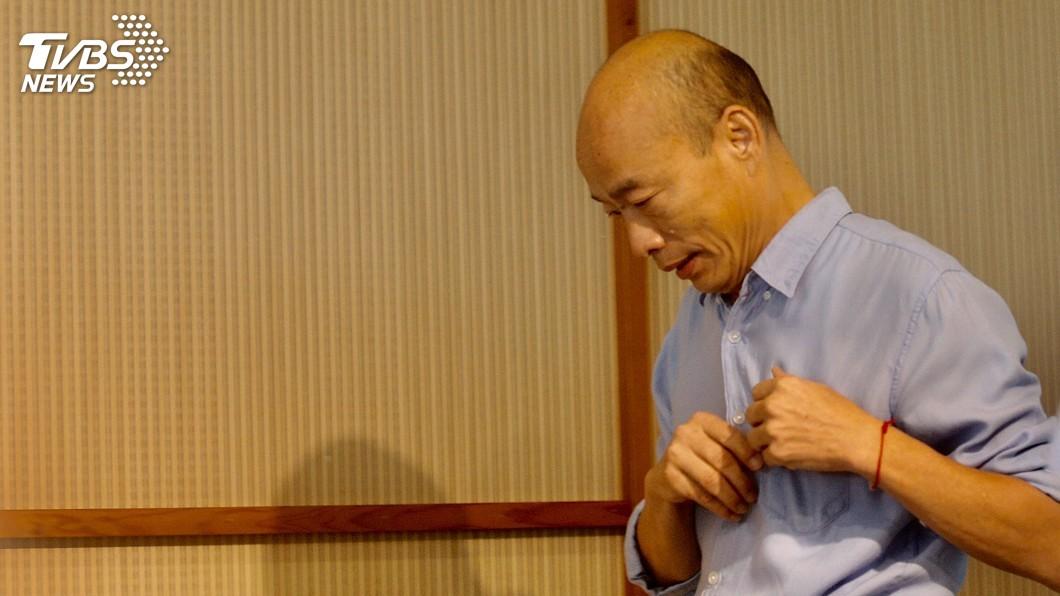 圖/中央社 公文諭令勿連署罷免 韓國瑜:公務員要行政中立