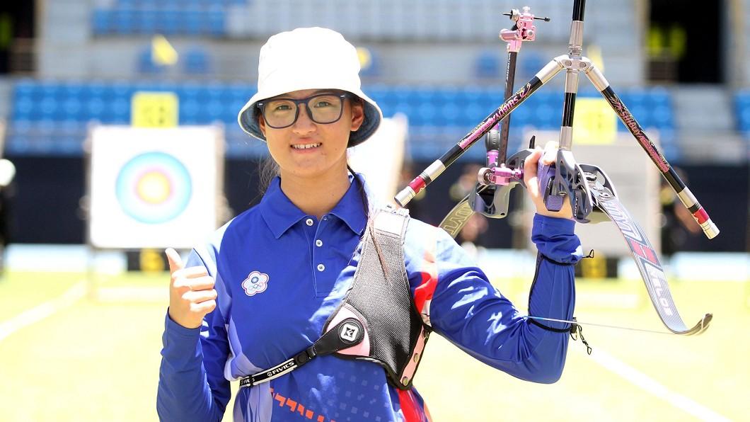 圖/翻攝自中華民國射箭協會 Chinese Taipei Archery Association臉書 蘇思蘋10分箭改判為9分 亞洲盃雙金夢碎