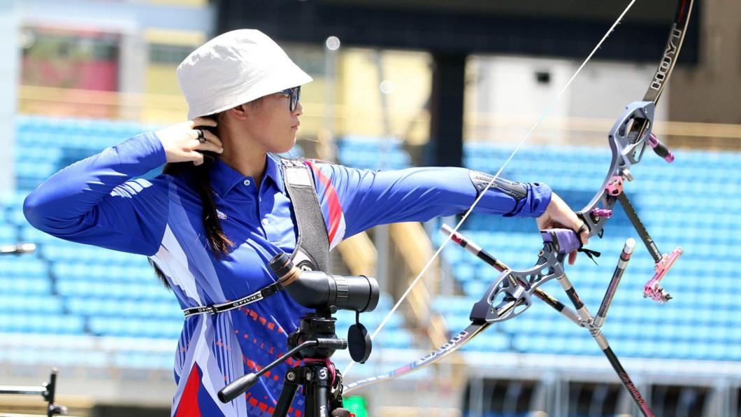 圖/翻攝自 中華民國射箭協會 Chinese Taipei Archery Association a臉書 把譚雅婷當目標 蘇思蘋盼奪奧運射箭金牌