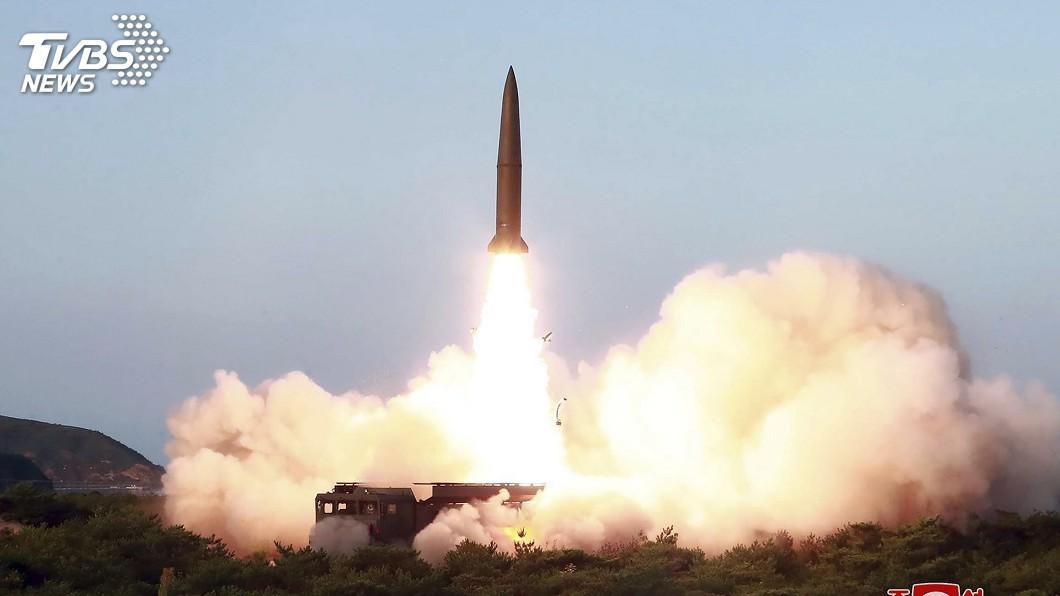 圖/達志影像美聯社 北韓四度射彈!路透:駭客網攻偷走638億