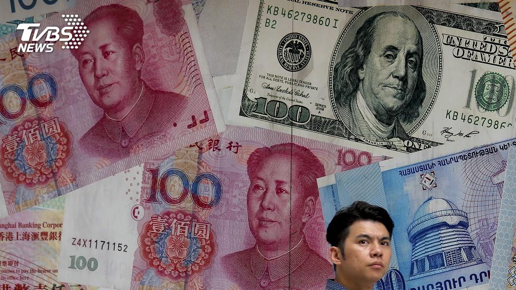 圖/達志影像美聯社 中美改打貨幣戰! 美將陸列「匯率操縱國」