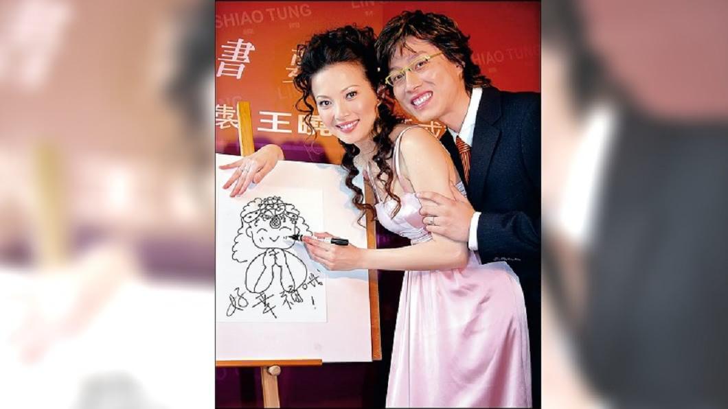 2006年王曉書帶球嫁給同為聽障的須家隆,但這恩愛畫面已不復見。圖/CTWANT提供 風流尪愛上印尼妹 名模王曉書低調離婚