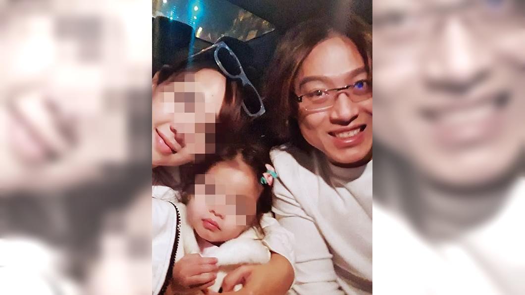 須家隆2015年三婚印尼籍妻子,目前育有一女。圖/CTWANT提供