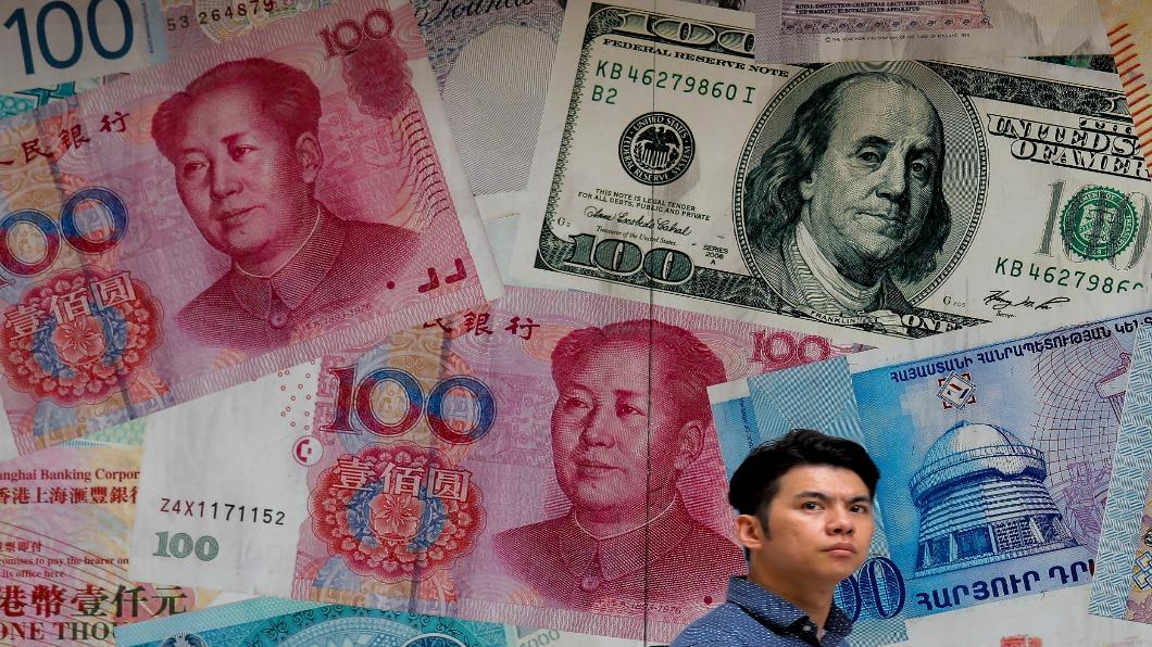 圖/達志影像美聯社 中國列匯率操縱國次日 美股三大指數全揚