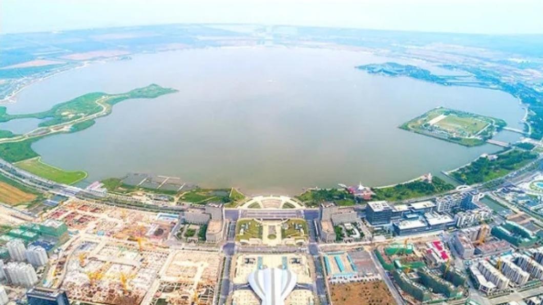 圖/翻攝自 上海市臨港地區開發建設管理委員會 滬自貿區擴張 推政策紅包吸高端產業