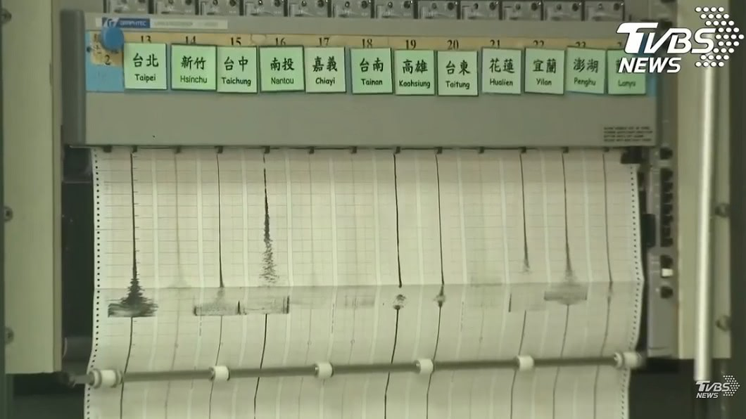 圖/TVBS 「不排除1周內有更大地震!」 氣象局曝此次地震原因