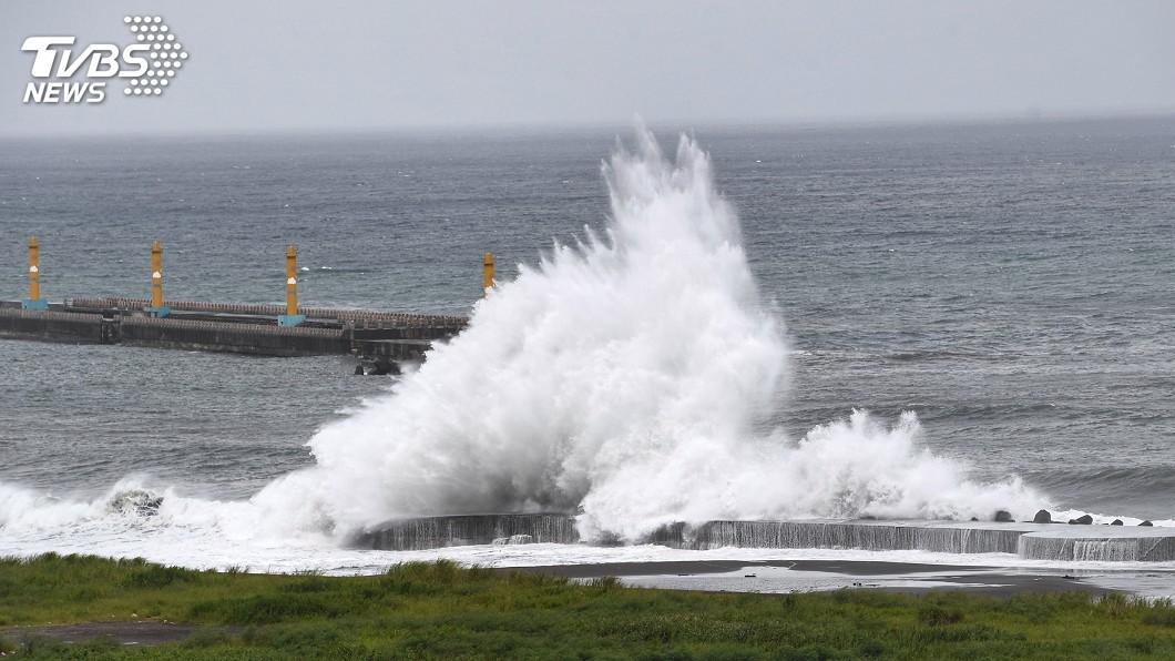圖/中央社 颱風利奇馬逼近台灣 散布災害假訊息可開罰