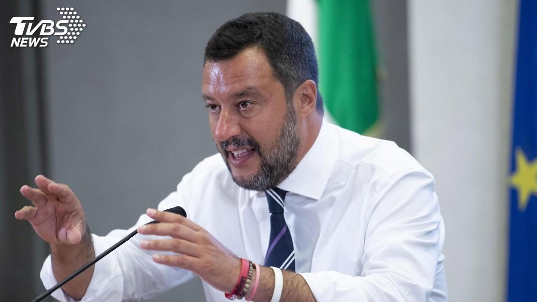 圖/達志影像美聯社 義大利副總理稱聯合政府瓦解 籲重新大選