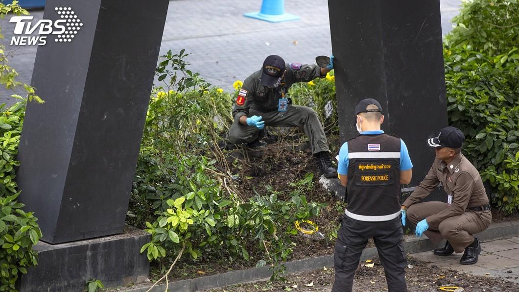 圖/達志影像美聯社 曼谷上週連環爆 警方初判與政治爭議有關