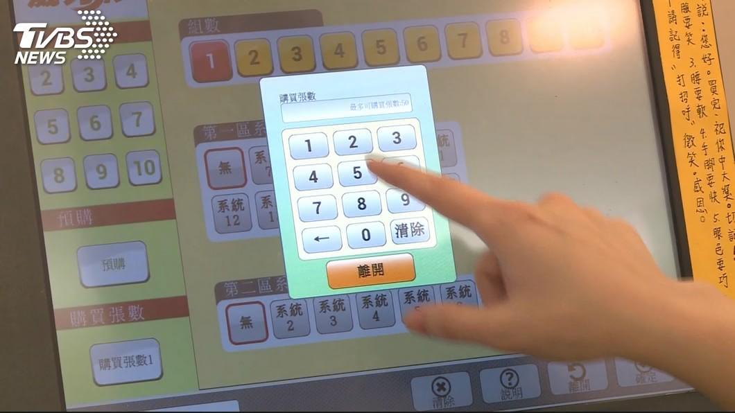 圖/TVBS 威力彩連46摃! 頭獎上看20.5億元創近4年最高