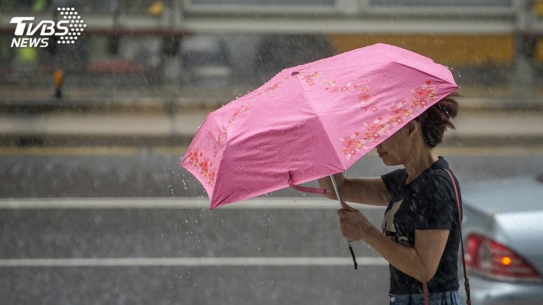 圖/中央社 今晚變天!下週「哈吉貝」若成颱 國慶連假恐遭雨襲