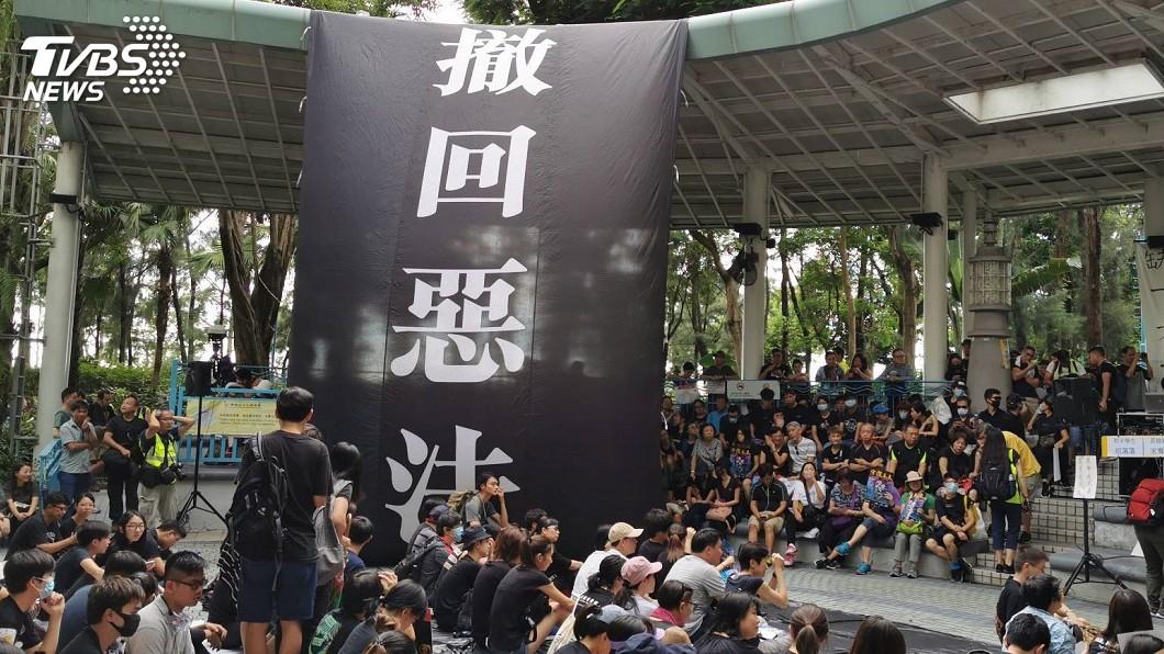圖/中央社 流氓vs黑手 一次看懂北京華府反送中交手