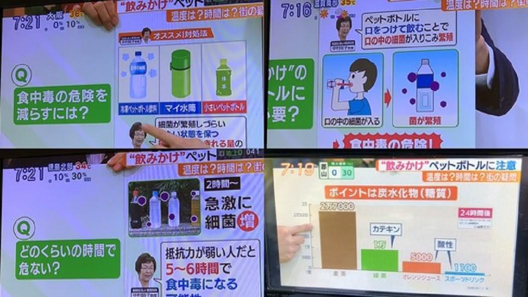 日本TBS節目《あさチャン!》。圖/翻攝自推特