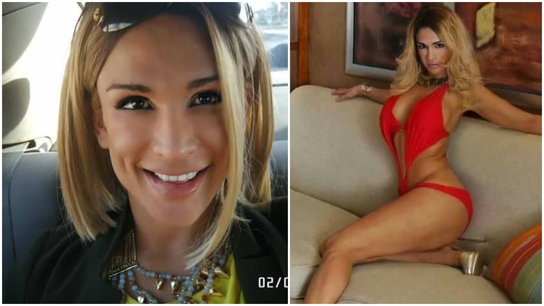 全球第1位變性真人秀女星里維拉(Miriam Rivera)死因成謎。合成圖/翻攝Miriam Rivera De Cuervo臉書 女星離奇過世速火化 夫遭威脅:連你一起殺!