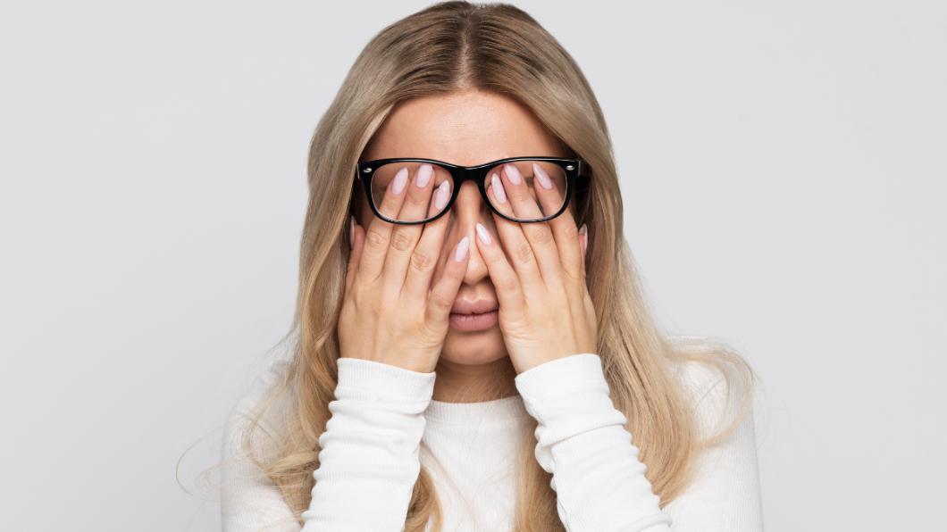 示意圖/TVBS 女大生視力模糊逾2週 抽血竟驗出「血癌」